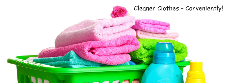 Cleaner Clothes – Conveniently! | Stack of towels